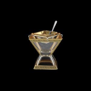 Torcello KSD TMGB Caviar Set w/F 14x14cm 1pc in Lilit Golden Black Decor (31-960)