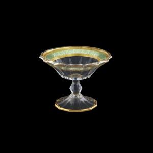Doge MMB DALT Small Bowl d18cm 1pc in Allegro Golden Turquoise Light Decor (6T-941/L)