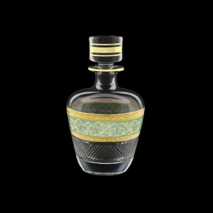 Fiesole WD FALT Whisky Decanter 850ml 1pc in Allegro Golden Turquois Light D. (6T-836/L)