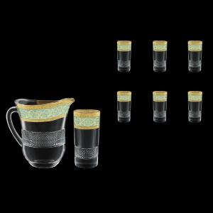 Fiesole Set J+B0 FALT 1230ml+6x360ml 1+6pcs in Allegro G. Turquoise L. D. (6T-835/834/L)