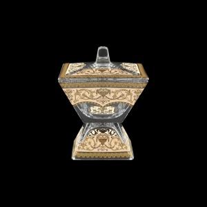 Torcello DOD TELI Dose w/F 14x14cm 1pc in Flora´s Empire Golden Ivory Light (25-963/L)