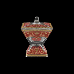 Torcello DOD TELR Dose w/F 14x14cm 1pc in Flora´s Empire Golden Red Light (22-963/L)