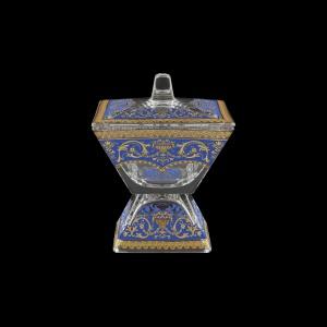 Torcello DOD TELC Dose w/F 14x14cm 1pc in Flora´s Empire Golden Blue Light (23-963/L)
