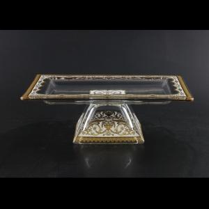 Rialto QTD TELW Tray w/F 24x18cm 1pc in Flora´s Empire Golden White Light (21-965/L)