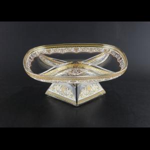 Fenice MDD PELW Four-Bowl w/F 25x25cm 1pc in Flora´s Empire Gold. White Light (21-955/L)