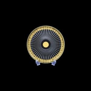 Sunbeam CP SNGL Cake Plate d18cm 1pc in Romance Golden Bright Decor (33-0381/BT)