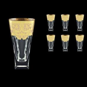 Fusion B0 F0025 Water Glasses 384ml 6pcs in Natalia Golden Ivory Decor (F0025-0100)