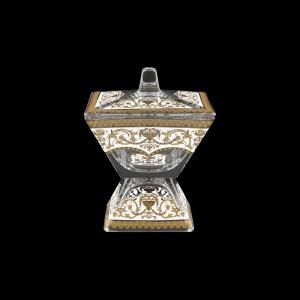 Torcello DOD TELW Dose w/F 14x14cm 1pc in Flora´s Empire Golden White Light (21-963/L)