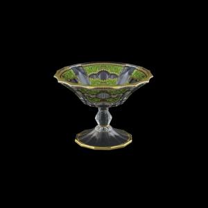Doge MMB DELG Small Bowl d18cm 1pc in Flora´s Empire Golden Green Light (24-943/L)
