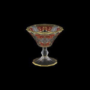 Doge MMB DELR H Small Bowl d15,5cm 1pc in Flora´s Empire Gold. Red L.+H (22-942/H/L)