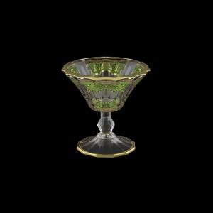 Doge MMB DELG H Small Bowl d15,5cm 1pc in Flora´s Empire Gold. Green L.+H (24-942/H/L)