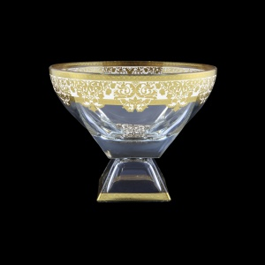 Fusion MVD F0021 Large Bowl 19,5x24,5cm 1pc in Natalia Golden White Decor (F0021-016H)