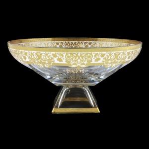 Fusion MOD F0021 Bowl 305 d30,5cm 1pc in Natalia Golden White Decor (F0021-016I)