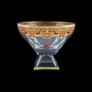 Fusion MVD F0022 Large Bowl 19,5x24,5cm 1pc in Natalia Golden Red Decor (F0022-016H)