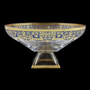 Fusion MOD F0023 Bowl 305 d30,5cm 1pc in Natalia Golden Blue Decor (F0023-016I)