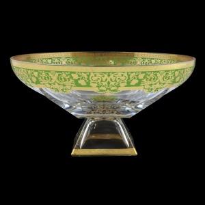 Fusion MOD F0024 Bowl 305 d30,5cm 1pc in Natalia Golden Green Decor (F0024-016I)