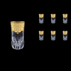 Adagio B0 F0025 Water Glasses 400ml 6pcs in Natalia Golden Ivory Decor (F0025-0400)