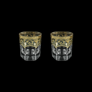 Provenza B2 PELK Whisky Glasses 280ml 2pcs in Flora´s Empire G. Crystal Light (20-527/2/L)