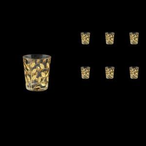 Laurus B5 LLG Liqueur Tumbler 6x60ml 6pcs in Gold (1339)