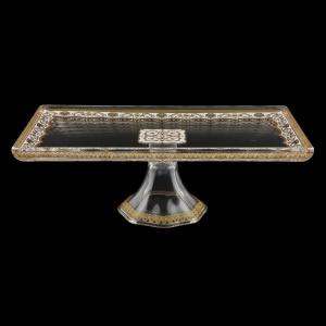 Gaia QTK KEGW Quadro Tray 32x18cm, 1pc in Flora´s Empire Golden White L. (21-5F90/L)