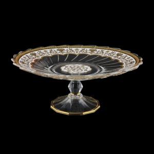 Afrodita CPB AEGW Cake Plate d27cm, 1pc in Flora´s Empire Golden White L. (21-5A77/L)