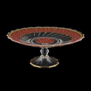 Afrodita CPB AEGR Cake Plate d27cm, 1pc in Flora´s Empire Golden Red L. (22-5A77/L)