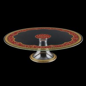 Eris CPE EEGR Cake Plate d31cm, 1pc in Flora´s Empire Golden Red L. (22-5J73/L)