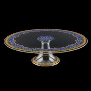 Eris CPE EEGC Cake Plate d31cm, 1pc in Flora´s Empire Golden Blue L. (23-5J73/L)