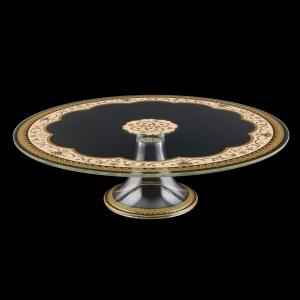 Eris CPE EEGI Cake Plate d31cm, 1pc in Flora´s Empire Golden Ivory L. (25-5J73/L)