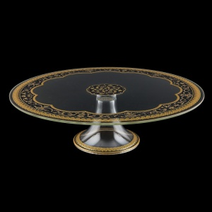 Eris CPE EEGB Cake Plate d31cm, 1pc in Flora´s Empire Golden Black L. (26-5J73/L)