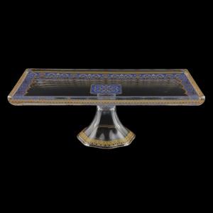 Gaia QTK KEGC Quadro Tray 32x18cm, 1pc in Flora´s Empire Golden Blue L. (23-5F90/L)
