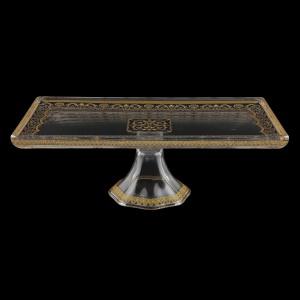 Gaia QTK KEGB Quadro Tray 32x18cm, 1pc in Flora´s Empire Golden Black L. (26-5F90/L)