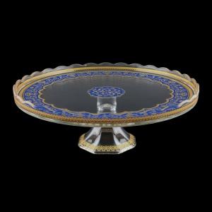 Kairos CPK KEGC Cake Plate d32cm, 1pc in Flora´s Empire Golden Blue L. (23-5D76/L)