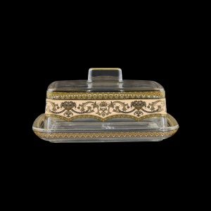 Victoria DO VEGI Butter Dose 14,5x12cm, 1pc in Flora´s Empire Golden Ivory L. (25-5K0F/L)