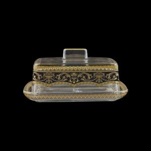 Victoria DO VEGB Butter Dose 14,5x12cm, 1pc in Flora´s Empire Golden Black L. (26-5K0F/L)