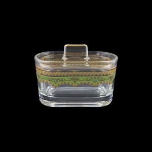 Victoria DO VEGG Sugar Dose 12,6x9cm, 1pc in Flora´s Empire Golden Green L. (24-5K0G/L)