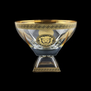 Fusion MVD FLGB CH Large Bowl w/F 19,5x24,5cm 1pc in Antique&Leo Golden Black D. (42-945)