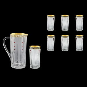 Timeless Set J+B0 TAGB SKLI 1200ml+6x440ml in Antique G. Black D.+SKLI (57-114/133/bKLI)