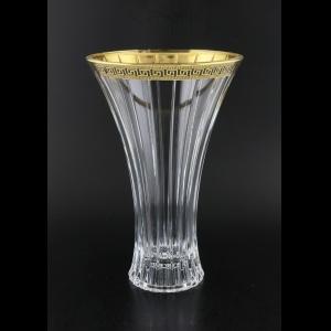 Timeless VV TAGB b Vase 30cm 1pc in Antique Golden Black Decor (57-281/b)