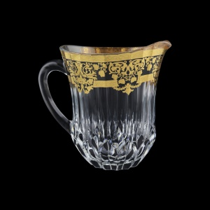 Adagio J F0026 Jug 1230ml 1pc in Natalia Golden Black Decor (F0026-0422)