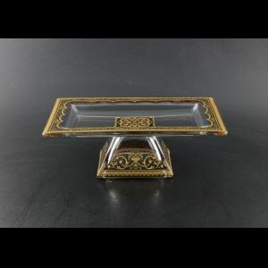 Rialto QTD TELB Tray w/F 24x18cm 1pc in Flora´s Empire Golden Black Light (26-965/L)