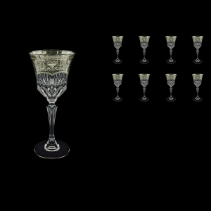 Adagio C3 AESK Wine Glasses 220ml 8pcs in Flora´s Empire Pl. Crystal Light (20-1/592/8/L)