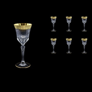 Adagio C4 AMGE Cherry Stemware 150ml, 6pcs, in Lilit Golden Embossed Decor (F0031-0414)