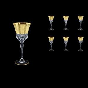 Adagio C4 F0065 Cherry Stemware 150ml, 6pcs, in Allegro Golden Embossed Decor (F0065-0414)