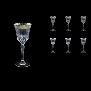 Adagio C4 F0031-1 Cherry Stemware 150ml, 6pcs, in Lilit Platinum Embossed (F0031-1-0414)