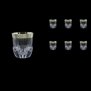 Adagio B2 F0031-1 Whisky Tumblers 350ml, 6pcs, in Lilit Platinum Embossed D (F0031-1-0402)
