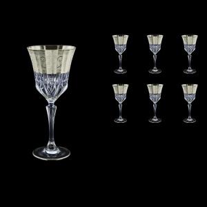 Adagio C2 F0065-1 Wine Stemware 280ml, 6pcs, in Allegro Platin. Embossed (F0065-1-0412)
