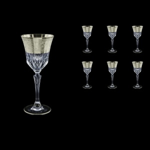 Adagio C3 F0065-1 Wine Stemware 220ml, 6pcs, in Allegro Platin. Embossed (F0065-1-0413)