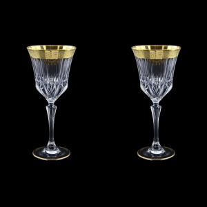 Adagio C2 AMGE Wine Stemware 280ml, 2pcs, in Lilit Golden Embossed Decor (F0031-0412=2)