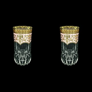 Adagio B0 AEGI Water Glasses 400ml 2pcs in Flora´s Empire Golden Ivory Decor (25-596/2)